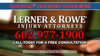 Lerner and Rowe Injury Attorneys TV Spot, 'Heartburn Medication' - Thumbnail 8