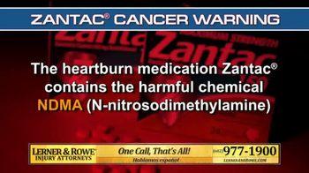 Lerner and Rowe Injury Attorneys TV Spot, 'Heartburn Medication' - Thumbnail 2