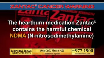 Lerner and Rowe Injury Attorneys TV Spot, 'Heartburn Medication' - Thumbnail 3