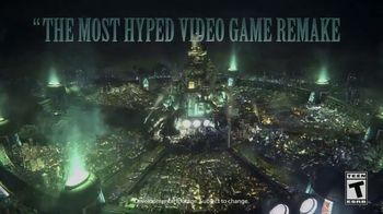 Final Fantasy VII Remake TV Spot, 'Most Hyped Remake'