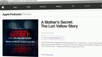 Mystery & Murder: Analysis by Dr. Phil TV Spot, 'A Mother's Secret: The Lori Vallow Story' - Thumbnail 9