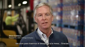 Kellogg's TV Spot, 'Gracias a los héroes que traen el desayuno a la mesa' [Spanish] - Thumbnail 10