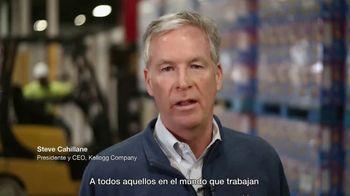 Kellogg's TV Spot, 'Gracias a los héroes que traen el desayuno a la mesa' [Spanish] - Thumbnail 9