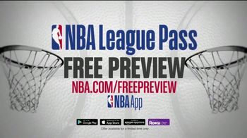 NBA League Pass TV Spot, 'Classic Games: Free Preview' - Thumbnail 7