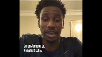 NBA Cares TV Spot, 'Junior NBA at Home' Featuring Jaren Jackson Jr. - 445 commercial airings