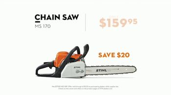 STIHL TV Spot, 'Real STIHL: Chain Saw and Backpack Blower' Song by Sacha James Collisson - Thumbnail 6