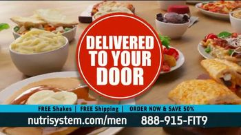 Nutrisystem for Men TV Spot, 'Stuck at Home: Save 50 Percent' - Thumbnail 2