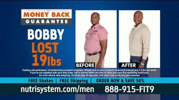 Nutrisystem for Men TV Spot, 'Stuck at Home: Save 50 Percent'