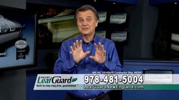 LeafGuard of New England Spring Blowout Sale TV Spot, 'Spring Showers'