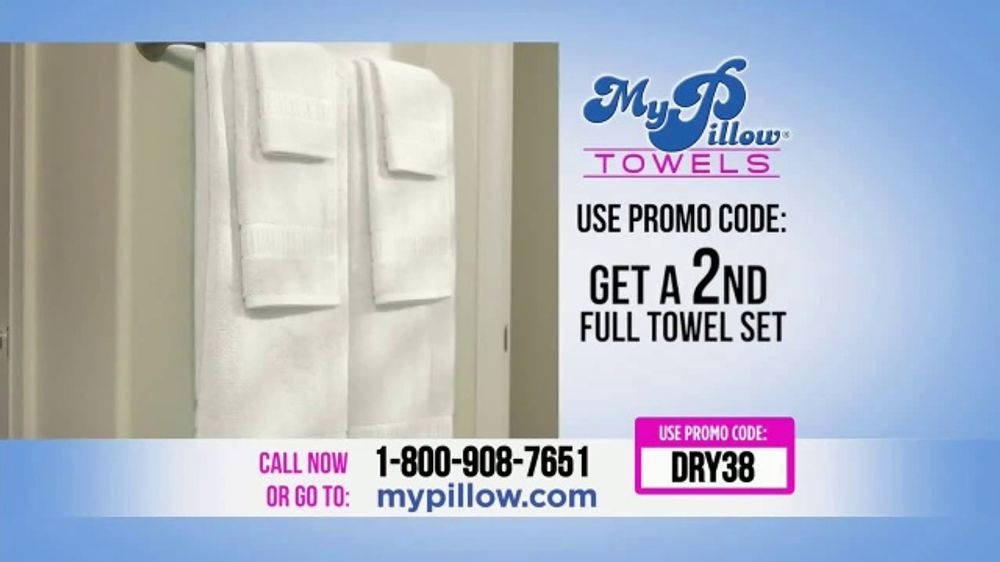My Pillow Towels TV Commercial, 'Two for the Price of One ...