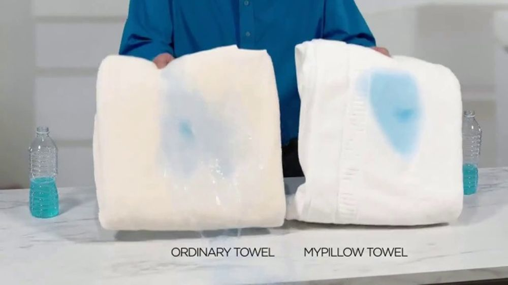 My Pillow Towels TV Commercial, 'Two for the Price of One'