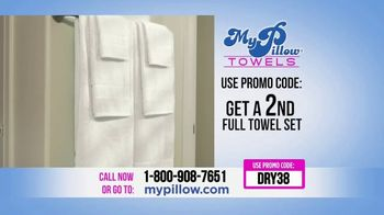 My Pillow Towels TV Spot, 'Two for the Price of One' - Thumbnail 10