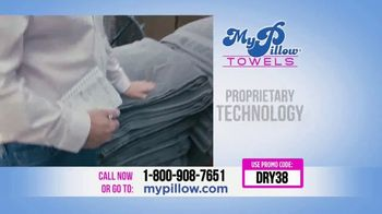 My Pillow Towels TV Spot, 'Two for the Price of One' - Thumbnail 9