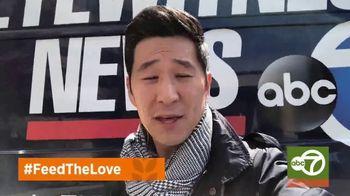 Feeding America TV Spot, 'Feed the Love' Featuring Kelly Ripa, Ryan Seacrest, Jimmy Kimmel - Thumbnail 6