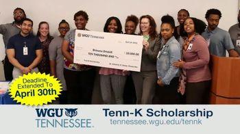 Western Governors University TV Spot, 'Tenn-K Scholarship' - Thumbnail 4