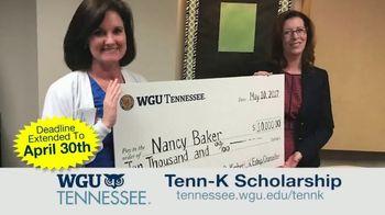 Western Governors University TV Spot, 'Tenn-K Scholarship' - Thumbnail 6