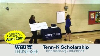 Western Governors University TV Spot, 'Tenn-K Scholarship' - Thumbnail 7