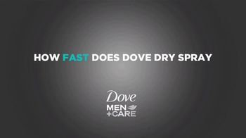 Dove Men+Care Dry Spray TV Spot, 'Comfort Zone' - Thumbnail 1