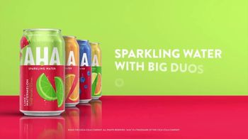 AHA Sparkling Water Lime + Watermelon TV Spot, 'Big Duos of Flavor' - Thumbnail 6