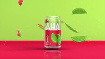 AHA Sparkling Water Lime + Watermelon TV Spot, 'Big Duos of Flavor' - Thumbnail 4