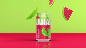 AHA Sparkling Water Lime + Watermelon TV Spot, 'Big Duos of Flavor' - Thumbnail 5