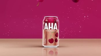 AHA Sparkling Water Black Cherry + Coffee TV Spot, 'The Greatest' Song by MUNNYCAT - Thumbnail 6
