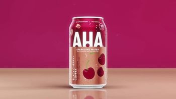 AHA Sparkling Water Black Cherry + Coffee TV Spot, 'The Greatest' Song by MUNNYCAT