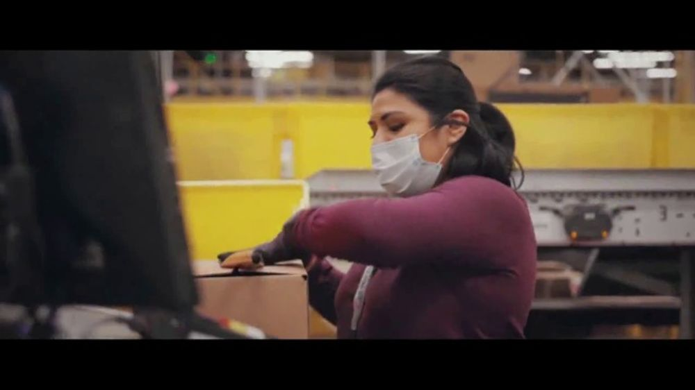 Amazon TV Commercial, 'Keeping Our Teams Safe'