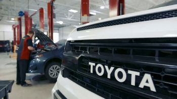 Toyota TV Spot, 'Here to Help: Open Toyota Service Centers' [T1] - 425 commercial airings
