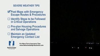 Nationwide Agribusiness TV Spot, 'Severe Weather Tips' - Thumbnail 4