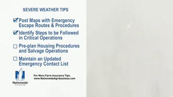 Nationwide Agribusiness TV Spot, 'Severe Weather Tips' - Thumbnail 5