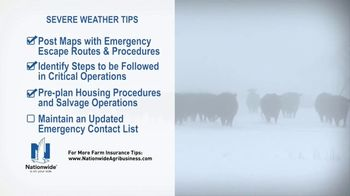 Nationwide Agribusiness TV Spot, 'Severe Weather Tips' - Thumbnail 6