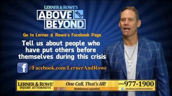 Lerner and Rowe Injury Attorneys TV Spot, 'Above and Beyond' - Thumbnail 4