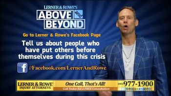 Lerner and Rowe Injury Attorneys TV Spot, 'Above and Beyond' - Thumbnail 5