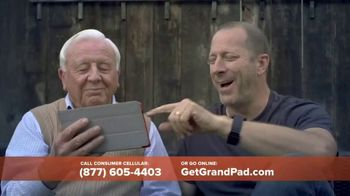 GrandPad TV Spot, 'Staying Close: Free Shipping' - Thumbnail 4