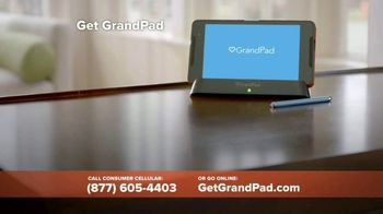 GrandPad TV Spot, 'Staying Close: Free Shipping' - Thumbnail 7