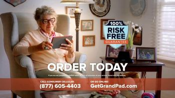 GrandPad TV Spot, 'Staying Close: Free Shipping' - Thumbnail 8