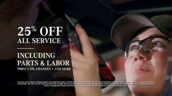 Mercedes-Benz TV Spot, 'We're Open: 25 Percent Off Service' - Thumbnail 7