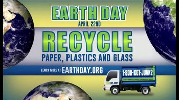1-800-GOT-JUNK TV Spot, 'Earth Day: Here to Help' - Thumbnail 2