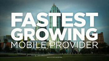 Spectrum Mobile TV Spot, \'Growing Faster\'