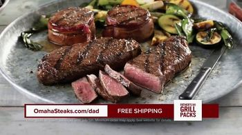 Omaha Steaks Fathers Day Grill Packs TV Spot, 'The Best' - Thumbnail 4
