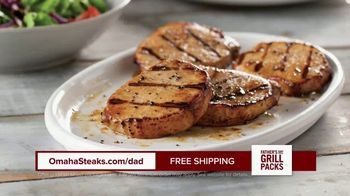 Omaha Steaks Fathers Day Grill Packs TV Spot, 'The Best' - Thumbnail 5