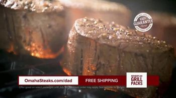 Omaha Steaks Fathers Day Grill Packs TV Spot, 'The Best' - Thumbnail 6