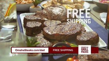 Omaha Steaks Fathers Day Grill Packs TV Spot, 'The Best' - Thumbnail 8