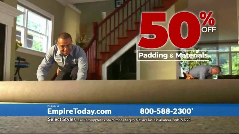 Empire Today 50-50-50 Sale TV Commercial, 'Get Big Savings on Beautiful New Floors'