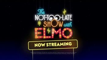 HBO Max TV Spot, 'The Not-Too-Late Show With Elmo' - Thumbnail 10