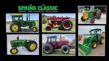 Mecum Gone Farmin' 2020 Spring Classic TV Spot, 'Hydro, International, Oliver and John Deere'