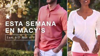 Macy's TV Spot, 'Camisas, blusas y básicos para el exterior' [Spanish] - Thumbnail 1