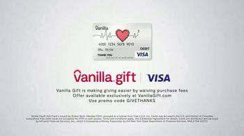Vanilla Gift TV Spot, 'Give the Gift of Thanks' - Thumbnail 8