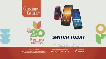 Consumer Cellular TV Spot, 'Plus Spring Into Savings' - Thumbnail 7